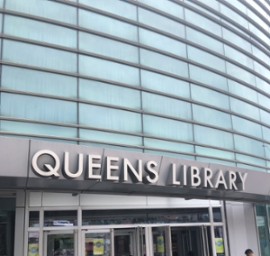 thumbnails Pop-Up Chamber: Flushing Library