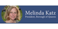 Queens Borough President Melinda Katz logo